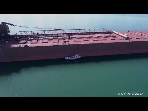 How big is a Great Lakes Freighter?