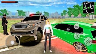 Brasil Tuning 2 - Racing Simulator - Girl Flees from the Police! Android gameplay screenshot 5