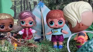 17. Куколки LOL. Маша и её друзья!  Лес...Палатки... Истории...
