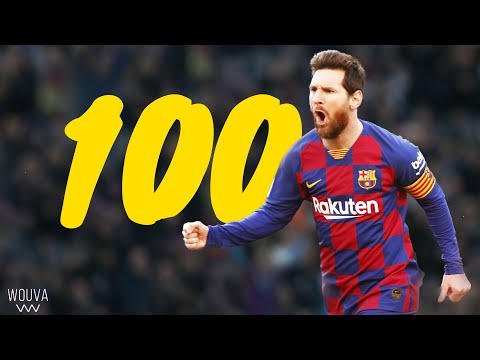 Lionel Messi  Top 100 Goals Ever (With Commentary)