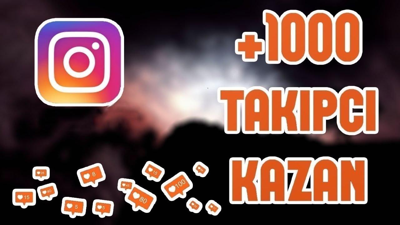 Gunde 1000 instagram  takipci hilesi bedava site ✅