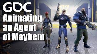 Animating an Agent of Mayhem