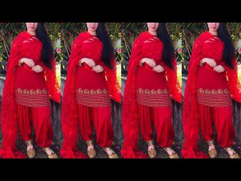 Top 16 Punjabi suit design ideas / Salwar Suit / Latest Punjabi suit ideas / Summer Punjabi suit