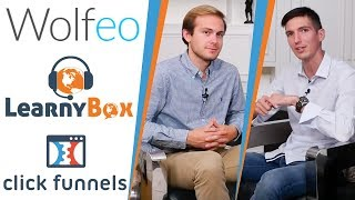 LEARNYBOX, CLICKFUNNELS, WOLFEO, quoi CHOISIR ? Kevin HANOT (1/2)