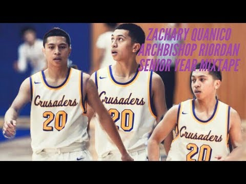 2019 Zachary Quanico Archbishop Riordan Senior Year Mixtape
