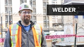 Job Talks - Welder - Andy Discusses His Skilled Trade as a Welder