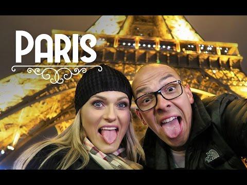 Primeira noite em Paris - Vlog de viagem na Europa