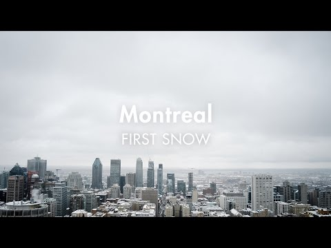 First Snow in Montreal   18