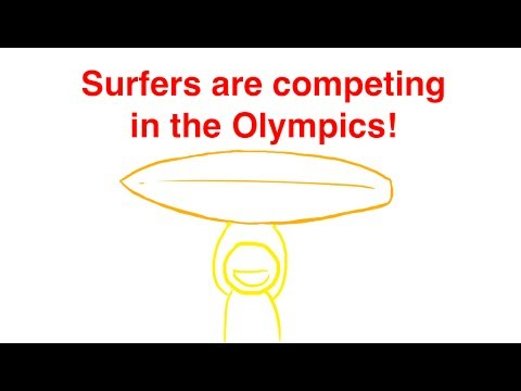 HOW DID SURFING BECOME A PART OF THE 2020 OLYMPICS? How a sport makes it to the Olympics explained!
