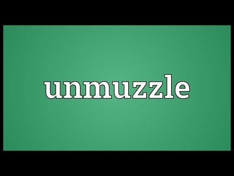 Header of unmuzzle