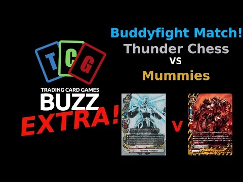 Buddyfight Match!!! Chess Empire VS Mummies (Post Dark Lord'