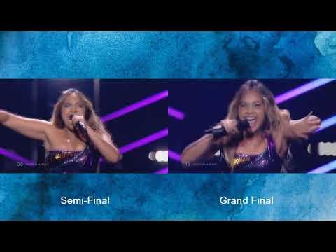 Jessica Mauboy - We Got Love - Semi Final - Grand Final- Eurovision 2018 - Australia