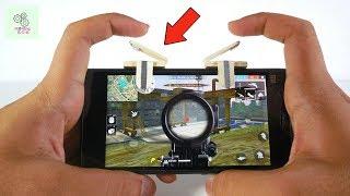 How To Make Fire Button  L1 R1 Button For PUBG MobileROS  Fortnitediy trigger  DIY