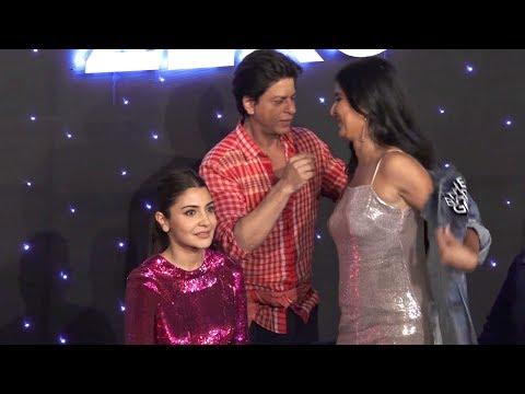 shah rukh khan  Removes Katrina Kaif Jacket and Talk About Salman Khan