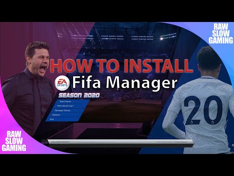 How To Install Fifa Manager 2020 Database Update | Tutorial