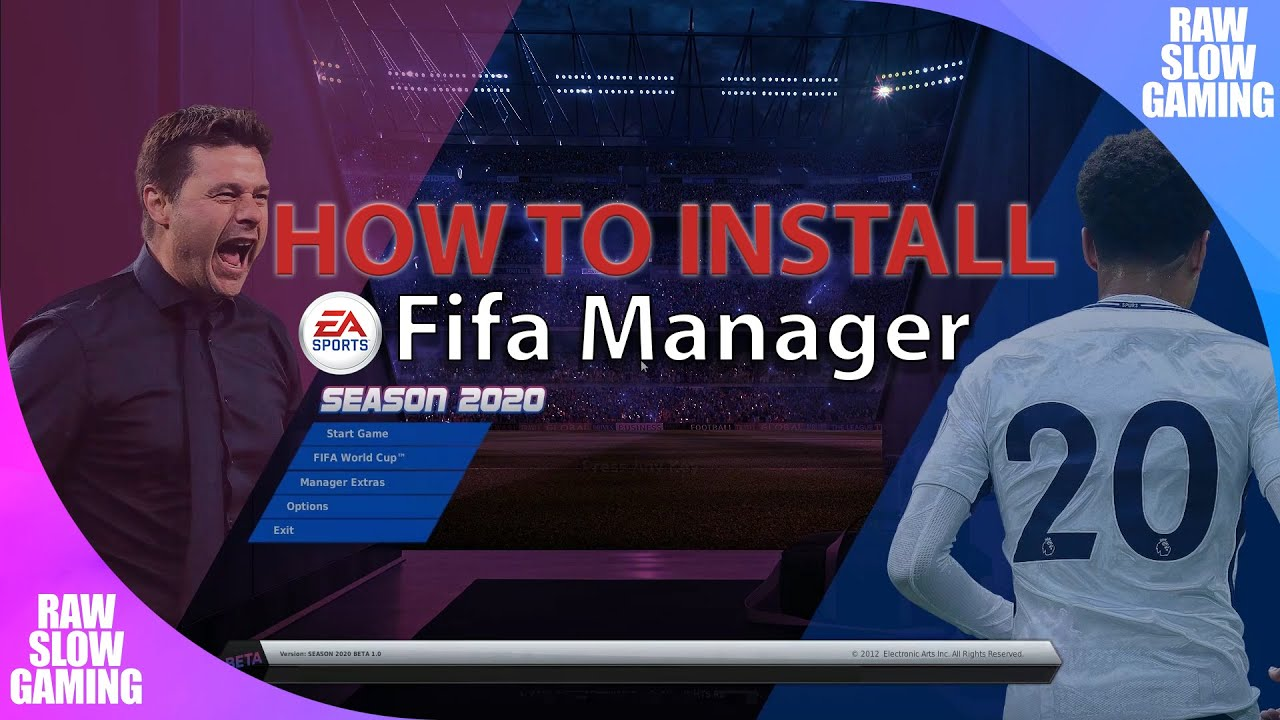 How To Install Fifa Manager 2020 Database Update Tutorial