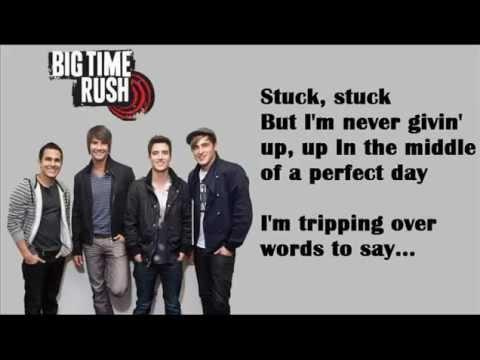 Stuck - Big Time Rush Lyrics