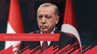 Эрдоган пригрозил оккупировать северную Сирию