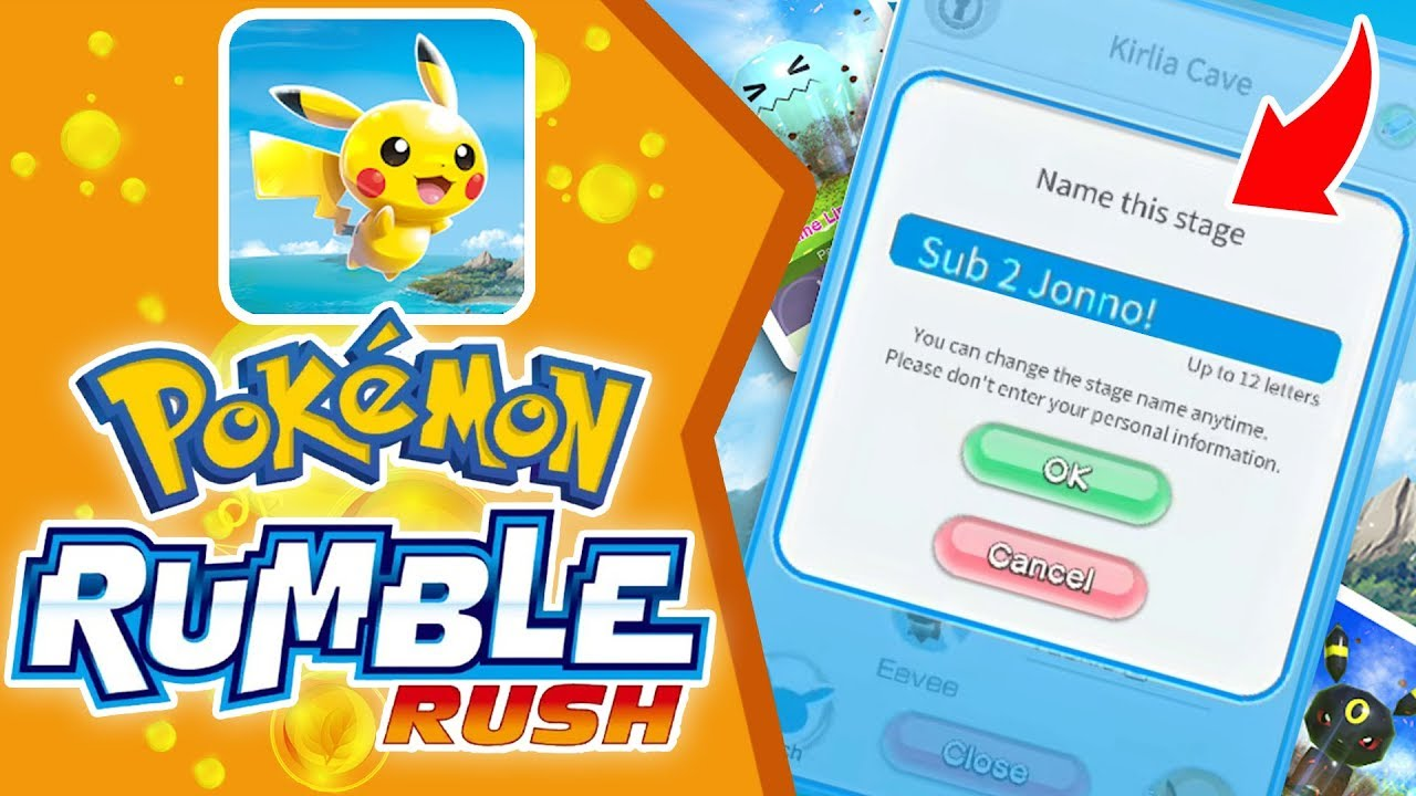 How To Edit Location Names in Pokemon Rumble Rush!