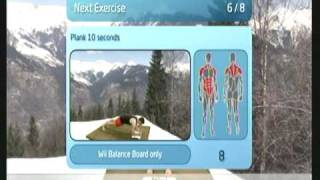 Wii Workouts - My Fitness Coach 2 - Evening Express Workout
