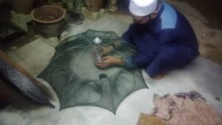 Bubu Ikan Jaring Ikan Hexagonal 8 Hole Fishing Net Trap Cage - Perangkap Ikan