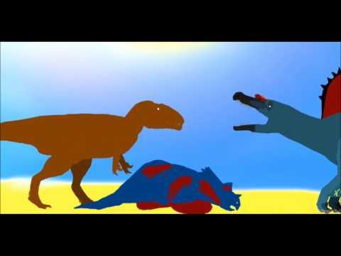 PPBA Sauroniops vs Spinosaurus