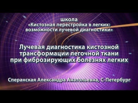 Сперанская А.А. — Лучевая диагностика кистозной трансформации легочной ткани