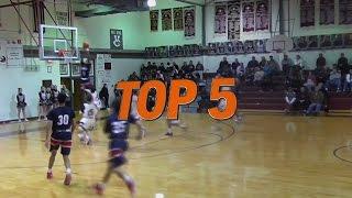 Hudl Top 5 High School Basketball Plays: Week 7 - 2016 thumbnail