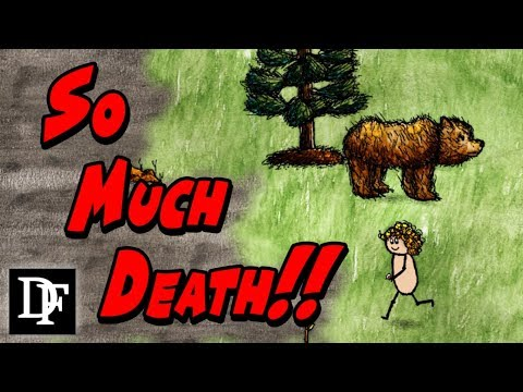 Toddlers + Survival Game = CHALLENGING - One Hour One Life Gameplay