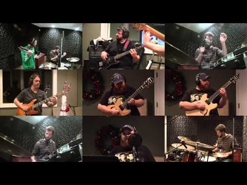 "Mac 'n Juice Quartet recording ""This Chrsitmas"""