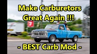 Best Carburetor Mod - Vapor Lock & Inconsistent Performance Issues CORRECTED (You'll Never Go Back)