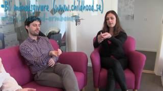 Paula och Filippa Rådin besöker Childhood