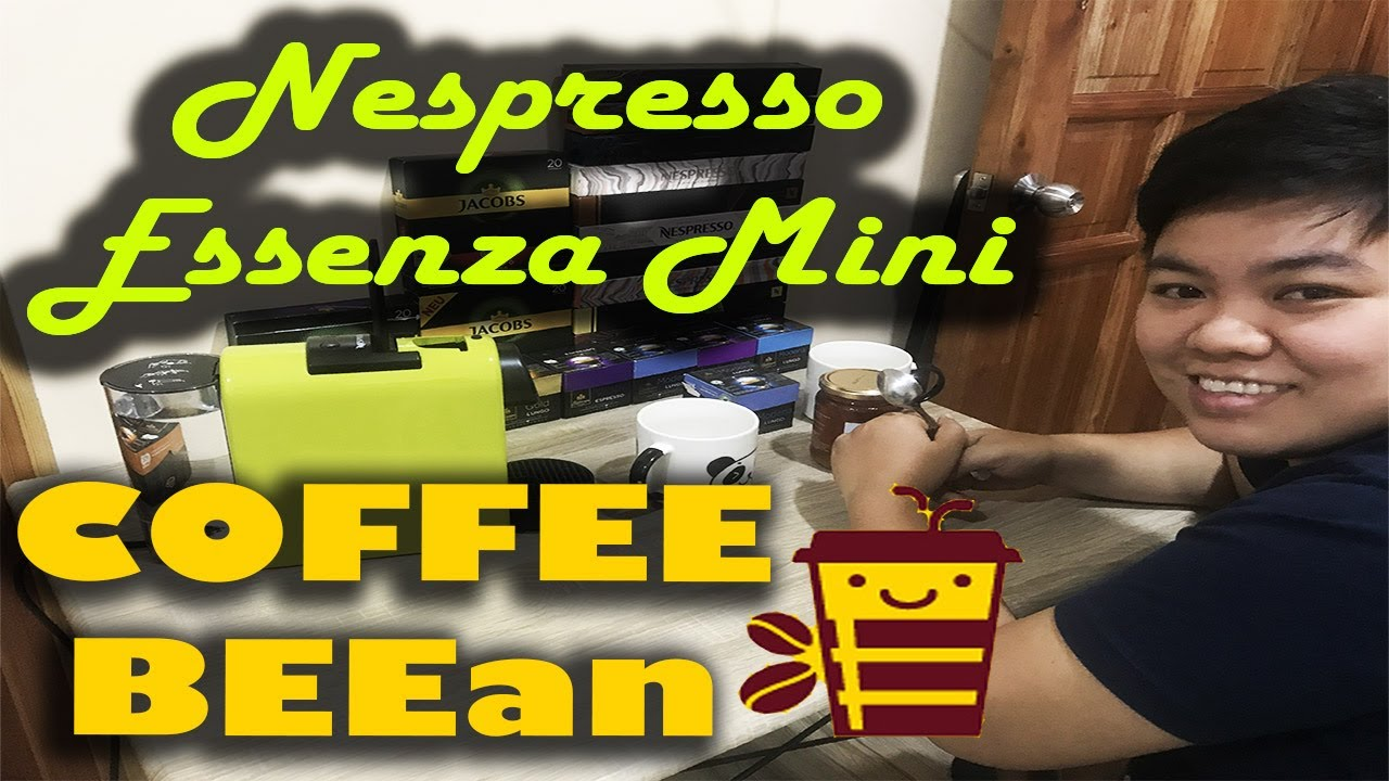 Making coffee using Nespresso Essenza Mini Lime - Pampagising ni Tivolee Bumblebee