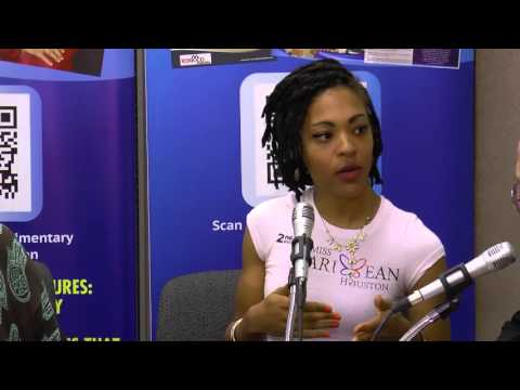 SBT Magazine Radio Talk Show with Sophia Leveque  Miss Caribbean Houston pageant runner up for Haiti