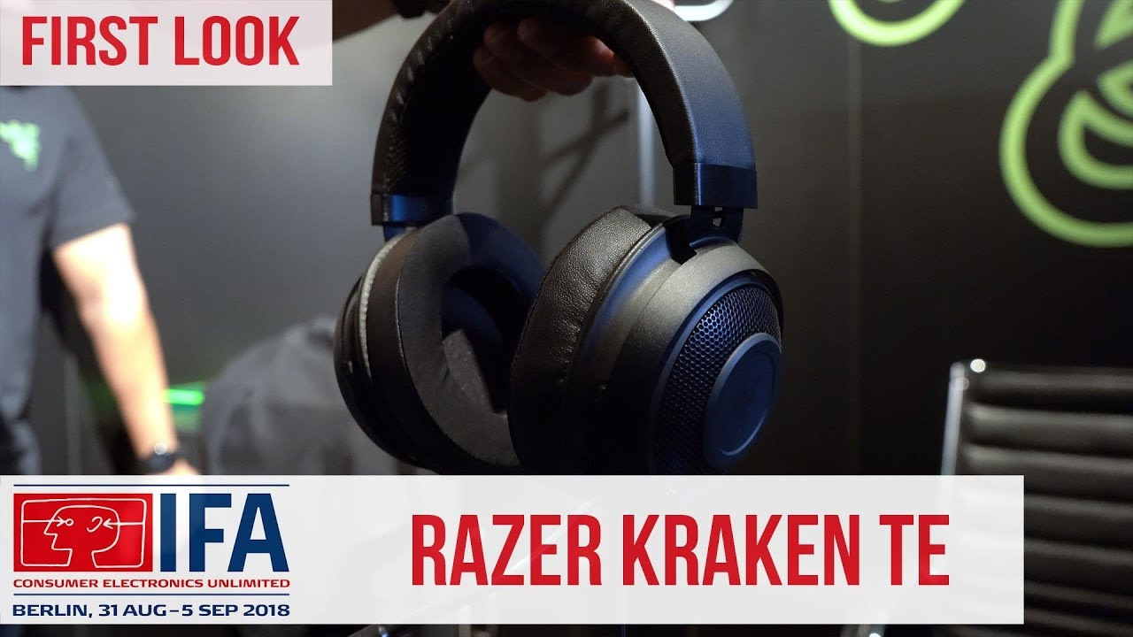 Razer Kraken Tournament Edition Gaming Headset with THX Spatial Audio  #IFA2018