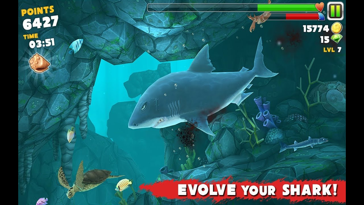 download hungry shark evolution for android full
