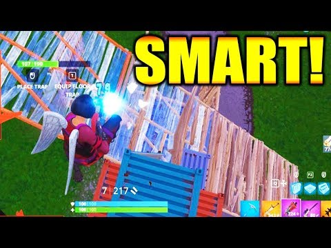 How To Play: SMART in FORTNITE BATTLE ROYALE!!!! thumbnail