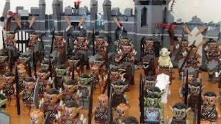 My LEGO Orc and Warg Army