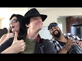 Steam Powered Giraffe Acoustic Rehearsal - Clockwork Vaudeville