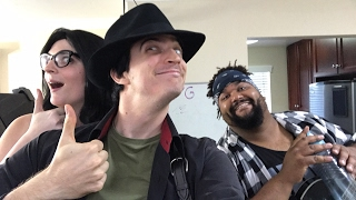 Steam Powered Giraffe Acoustic Rehearsal - Clockwork Vaudevill…
