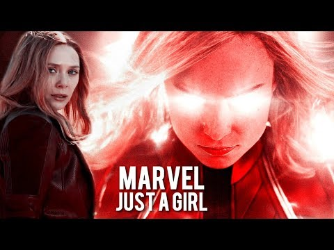 MARVEL || Just a girl