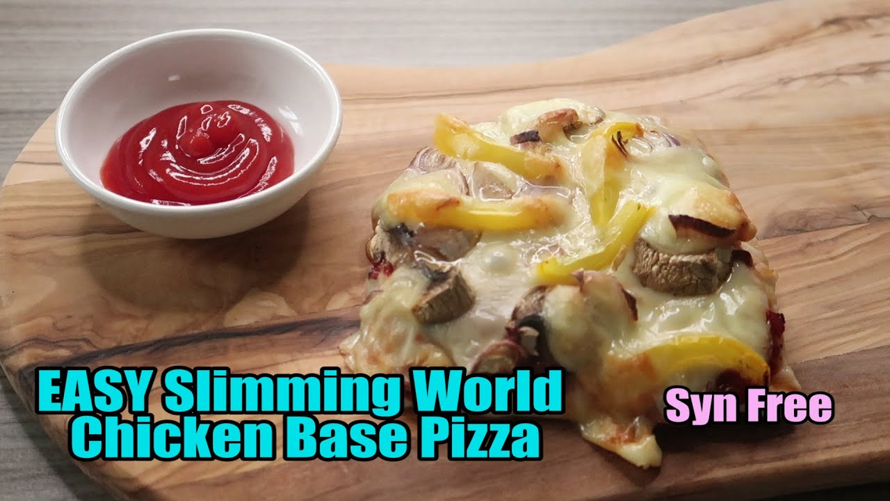Easy Slimming World Chicken Base Pizza Syn Free