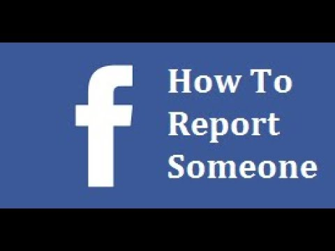 How to report someone on facebook after you have blocked them