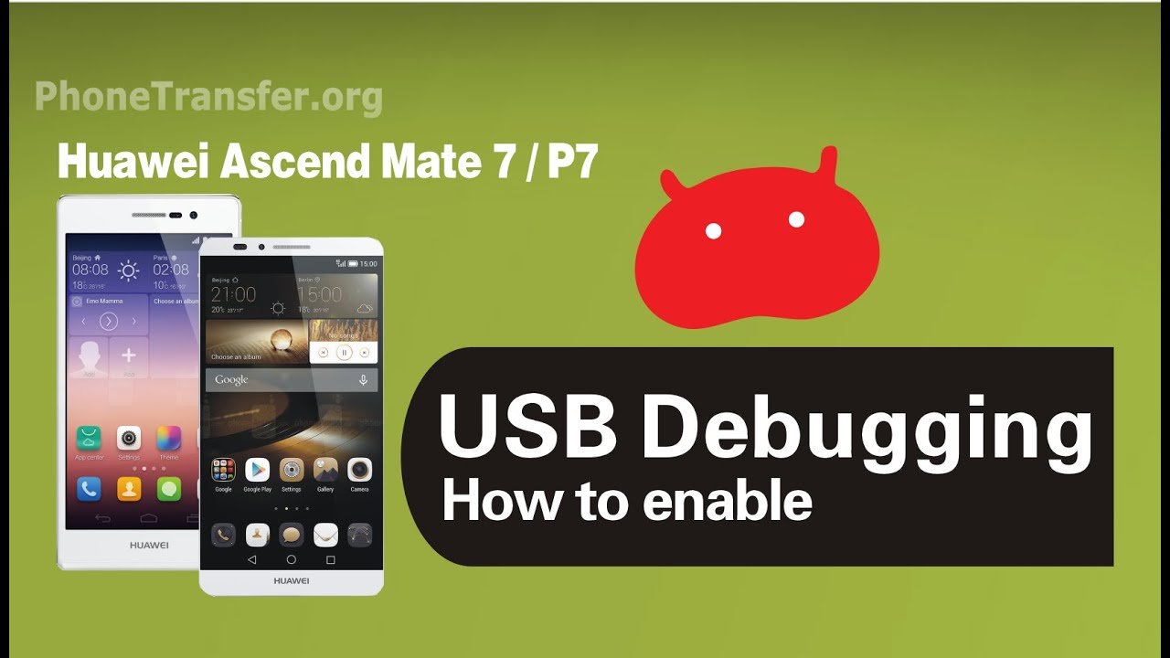How to Turn on & Enable USB Debugging Mode on Huawei Ascend Phone with EMUI  3
