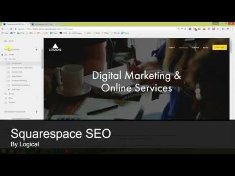 Squarespace SEO Tips (2017)