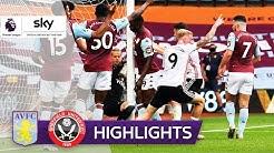 Hawk-Eye-Wahnsinn beim Re-Start | Aston Villa - Sheffield United 0:0 | Highlights - Premier League