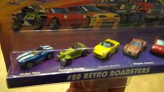 Micro Machines Mini Video - #20 Retro Roadsters 5 Car Collection by Galoob