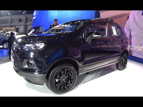 All new 2016, 2017 Ford EcoSport changes design