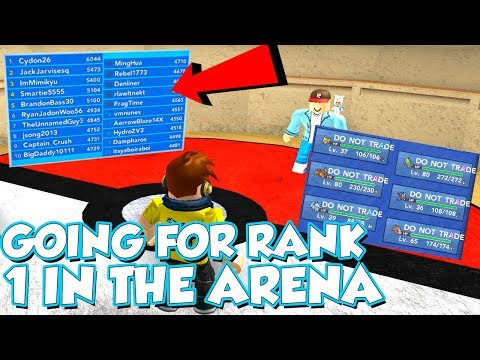 GOING FOR RANK 1 IN THE BATTLE COLOSSEUM IN POKEMON BRICK BRONZE!! / DefildPlays