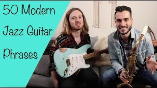 Ben Eunson 50 Modern Jazz Guitar Phrases